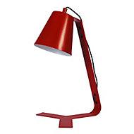 Lampe à poser Bangoran E14 IP20 rouge