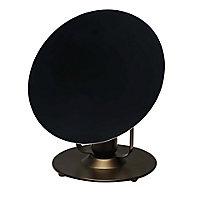 Lampe à poser Kiranat E27 IP20 noir