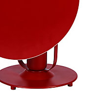 Lampe à poser Kiranat E27 IP20 rouge