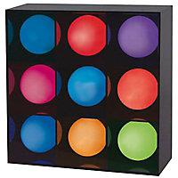 Lampe à poser LED Colours Mood 9 boules multicolore