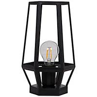 Lampe à poser Nantan E27 IP20 noir
