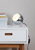 Lampe à poser Roccheta E14 IP20 argent