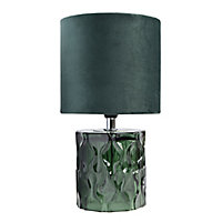 Lampe à poser Seynave Beauty vert velours