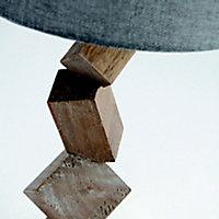 Lampe à poser Seynave Murica bois