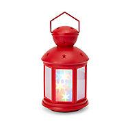 Lanterne hologramme rouge
