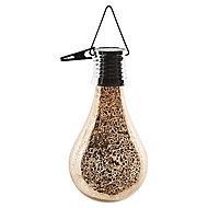 Lanterne solaire LED Ampoule dorée IP44