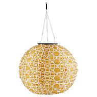 Lanterne solaire LED Blooma à motifs IP44