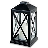 Lanterne vintage LED noir