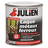 Laque antirouille métaux ferreux blanc brillant Julien 250ml