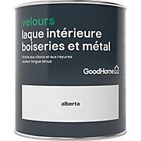 Laque boiseries et métal GoodHome Alberta Velours 0,75L