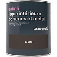 Laque boiseries et métal GoodHome Bogota Satin 0,75L