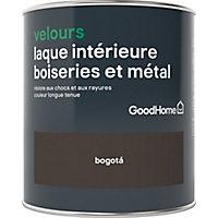 Laque boiseries et métal GoodHome Bogota Velours 0,75L