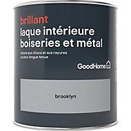 Laque boiseries et métal GoodHome Brooklyn Brillant 0,75L