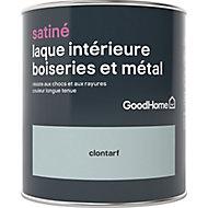Laque boiseries et métal GoodHome Clontarf Satin 0,75L