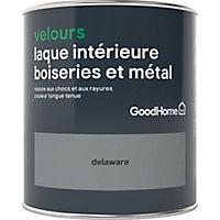 Laque boiseries et métal GoodHome Delaware Velours 0,75L