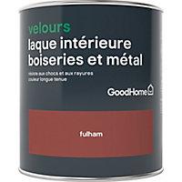 Laque boiseries et métal GoodHome Fulham Velours 0,75L