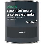 Laque boiseries et métal GoodHome Liberty Velours 0,75L