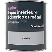 Laque boiseries et métal GoodHome Melville Satin 0,75L