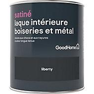 Laque boiseries et métal GoodHome Noir Satin 0,75L