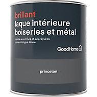 Laque boiseries et métal GoodHome Princeton Brillant 0,75L