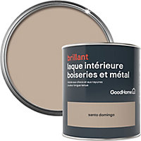 Laque boiseries et métal GoodHome St Domingo Brillant 0,75L