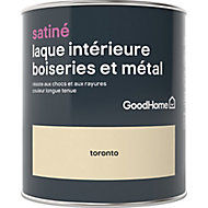 Laque boiseries et métal GoodHome Toronto Satin 0,75L
