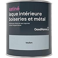Laque boiseries et métal GoodHome Toulon Satin 0,75L