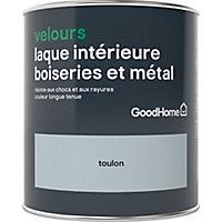 Laque boiseries et métal GoodHome Toulon Velours 0,75L