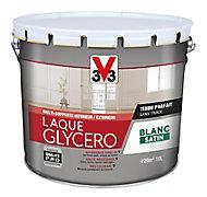 Laque glycéro 10L blanc satin