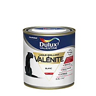 Laque Valénite Dulux Blanc brillant 0,5L