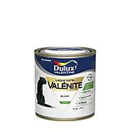 Laque Valénite Dulux Blanc satin 0,5L