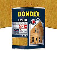 Lasure bois Bondex Chêne clair 1L - 12 ans