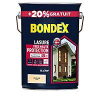 Lasure bois Bondex Incolore 8 ans 5L + 20%
