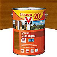 Lasure bois classique V33 Chêne doré 5L + 20% - 4 ans