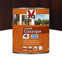 Lasure bois classique V33 Chêne foncé 1L - 4 ans