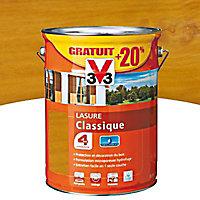 Lasure bois classique V33 Chêne naturel 5L + 20% - 4 ans