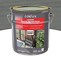 Lasure bois Colours Cendre 2,5L garantie 8 ans