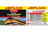 Lasure bois extérieur Syntilor Xylodhone gris perle 5L + 20% gratuit
