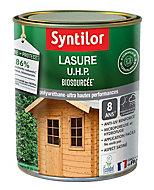 Lasure bois Nature Protect intérieur extérieur Syntilor 1L Satiné chêne foncé
