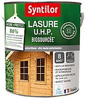 Lasure bois Nature Protect intérieur extérieur Syntilor 5L Satiné Chêne doré