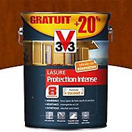 Lasure bois protection intense Chêne ambré 8 ans 5L + 20%