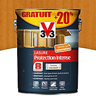 Lasure bois protection intense Chêne clair 8 ans 5L + 20%