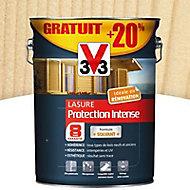 Lasure bois protection intense Incolore 8 ans 5L + 20%