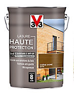 Lasure Haute protection bois V33 chêne doré satin 5L