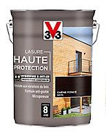 Lasure Haute protection bois V33 chêne foncé 5L