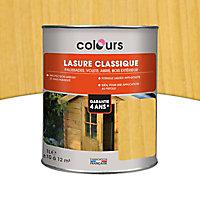 Lasure Ton chêne clair 4 ans Colours - 1 L