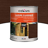 Lasure Ton chêne foncé 4 ans Colours - 1 L