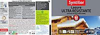 Lasure ultra résistante Syntilor ton chêne moyen 1L