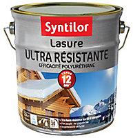 Lasure ultra résistante Syntilor ton chêne rustique 2,5L