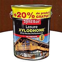 Lasure Xylodhone Syntilor Acajou exotique 5L + 20% - 8 ans